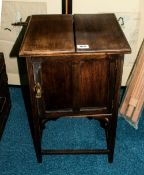 Early To Mid 20thC Beech Wood Sewing Box