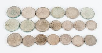 Collection Of Swedish Silver Coins, 210g