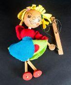 Pelaham Handmade & Handpainted Wooden Puppet no box, early puppet