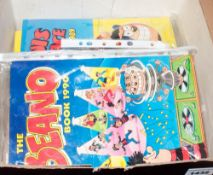 Collection of Misc Comics, Bunty, Dandy, Beano, Dennis the Menace Year Albums 1988, 1989 & 1990.
