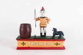 20thC Cast Money Bank 'Trick Dog'