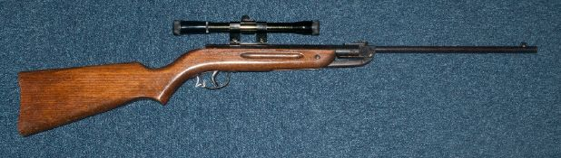Diana Mod 23 Air Rifle With Scope, 1.77