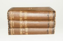 Edwin Waugh's Complete Works 1882-3 Vol vii Rambles In The Lake Country Vol Viii, The Chimney Corner