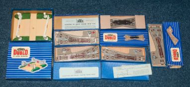 Hornby OO Comprising 6 Boxed Accessories To Include D1 Level Crossing, ISPR Isolating Switch