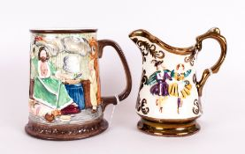 Beswick Collector's International Ltd and Numbered Edition Tankard. Num 7228-15000. Scrooge,