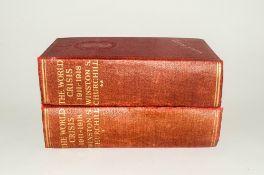 The World Crisis Winston Churchill 1914-1918 First Edition,