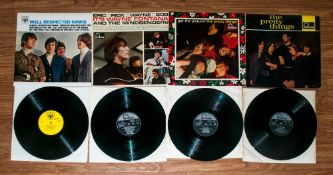 A Good Collection Of 1960's Vinyl Lp's 1 Pressings 4 in total. 1. Kinks 'Well Respected' Released