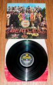 The Beatles, Sgt. Peppers Lonely Hearts Club Band Parlophone, Stereo Vinyl L.P - Released In June