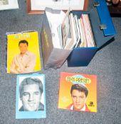 Collection Of Elvis Presley Memorabilia Comprising newspaper clippings, books, photos etc