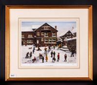 Tom Dodson Limited & Numbered Edition Artists Signed In Pencil Colour Print, Title 'A Day After