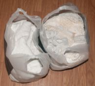 2 Bags Of Various Lace & Linen