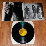 The Rolling Stones ' Sticky Fingers ' Vinyl L.P. Released 1971. Catalogue Num. COC.59100. Matrix