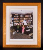 Tom Dodson Limited & Numbered Edition Artists Signed In Pencil Colour Print, Title 'Saturday