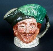 Royal Doulton Cavalier Character Jug no HN mark to the base. Possibly a trial piece.