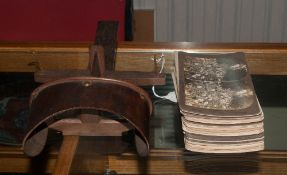 Mixed Lot Of Oddments, Comprising A Late 19th/Early 20thC Stereoscope With A Collection Of Approx 74