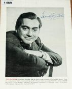 Tony Hancock Autograph In 'London Laughs' Brochure  circa 1950's Also Signed Vera Lynn & Jimmy