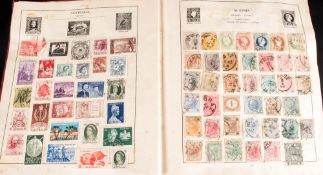 The Strand Stamp Album, Nov 1935, Containing Hundreds of Vintage Stamps - Includes Abyssinia,