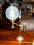 Brass Old Style Table Lamp