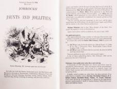Handley Cross or Mr Jorrocks Hunt Illustrated by John Leech, In Red Gilt Bindings, 1984 Reprint of
