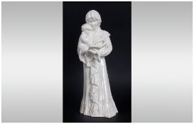 Royal Worcester Figurine 'Once Upon A Time' RW 4468, Issued 1990-2000. Modeller Glenis Devereaux,
