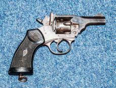 Deactivated MK IV .38 Webley & Scott Revolver Large Grip Number 144663 .38, 75mm Barrel, Complete