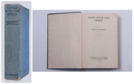 Gone With The Wind, by Margaret Mitchell, Published by Macmillan and Co Ltd, St. Martins Street,