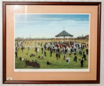 Tom Dodson - Pencil Signed Ltd and Numbered Colour Print. Title ' Dancing In The Park ' Number 609/