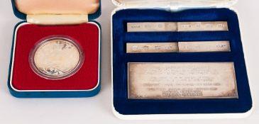 Mayfair Coin Co. The British Hallmark Assay Office Specimen Set. All Pieces Fully Hallmarked, Mint