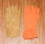 2 Pairs Of Ladies Evening Gloves