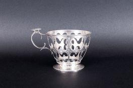 Russian Silver Tea Glass Holder, Looks To Be The Mark Of August Vendt, Assay Mark Viktor Savinski,