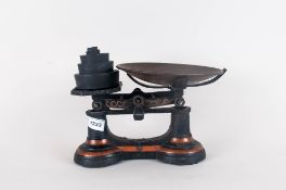 Set Of Kitchen Scales With Weights