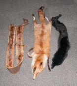 Collection Of Mink & Fox Tippets