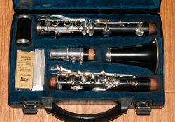 Buffet Crampon & Co Cased Clarinet, together with a collection of Reed & Reed Holders