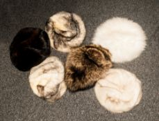 Collection Of Ladies Fox & Mink Fur Hats
