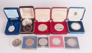 Mixed Lot Of Coins/Medallions To Include Royal Mint Silver Proof Coin 1981 Royal Wedding, 2 Tower