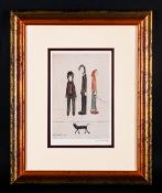 L.S.Lowry 1887-1976 Pencil Signed By The Artist Limited Edition Colour Print/Lithograph. Of 850. '