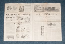 1959 Guinness Collectable Supplement To The Times Newspaper.