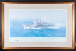 David Shepherd Fine Ltd Edition and Numbered Large and Impressive Pencil Signed and Titled Colour