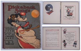 Pick a Back Songs. Hardcover, Words By Myrtle Reed, Music By Eva Cruzen. Pictures By Ike Morgan, G.P
