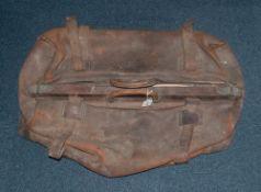 Large Leather Gladstone Bag