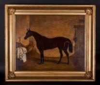 withdrawn William Osborne - Irish Artist Attributed 1821-1901 ' Poppy ' Oil on Canvas. Signed and