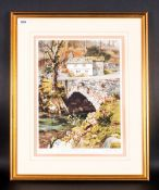 Judy Boyes Pencil Signed Limited Edition Colour Print Titled 'Spring At Elterwater' Number 366/