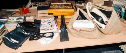 Box Containing A Quantity Of Ladies Handbags