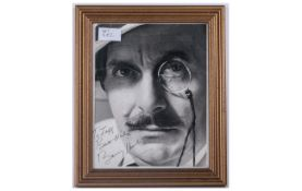 Signed Photograph to Jeff - Best Wishes, Barry Humpfries. Size 8 x 10 Inches.