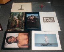 Pirella Ionic Collection Of Seven 1990's Calendars