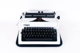 Erika Robotron Typewriter Model 105 Circa 1960's Complete with carrying case. Excellent condition