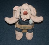 Wrinkles Puppy Soft Toy Puppet In Original Packaging