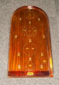 Bagatelle Indoor Table Game. 30 inches in length.