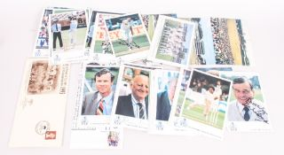 Large Quantity of Cricket Related Commemorative Covers from around the world.