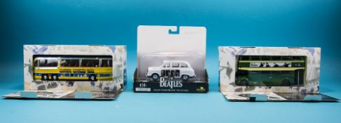 Diecast Interest, 3 Boxed Vehicles Comprising Corgi 35302 Bedford Val Magical Mystery Tour Bus,